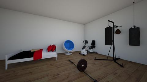 aston workout bedroom - Modern - by HillviewSS