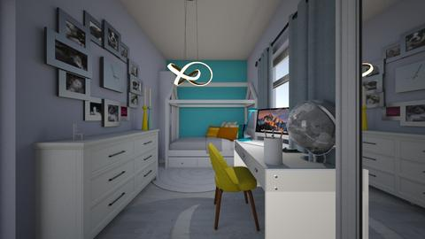 Blue_dream - Classic - Kids room - by Oryginal_nickname