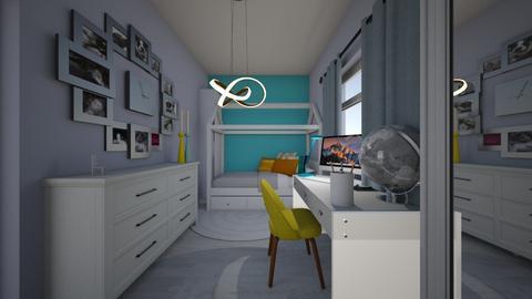 Blue_dream - Modern - Kids room  - by Oryginal_nickname