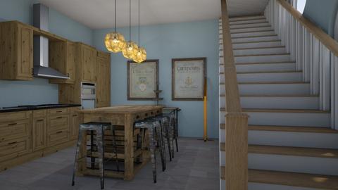 House 1 Kitchen - Kitchen  - by stjdesigner