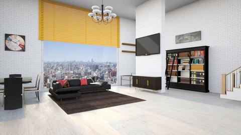 Large Living room - Living room  - by ErdemK123