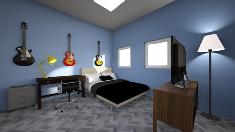 Bugatti Kid Guitar Remix  - Bedroom  - by Adogworld