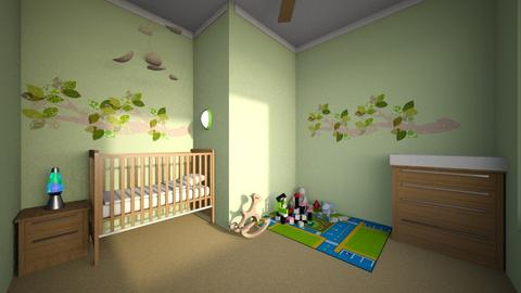 Small Nursery - Kids room  - by haileymilby