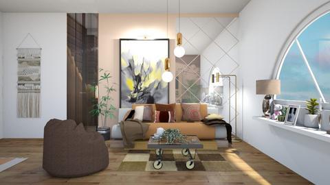 coffee futon - Living room  - by bluedolphin12