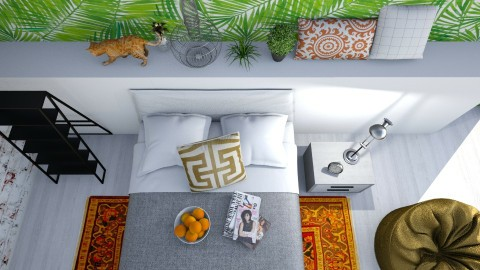 Cat from above - Modern - Bedroom - by bgref