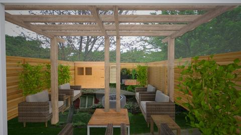 patio from scratch - Garden  - by adamwilson1234