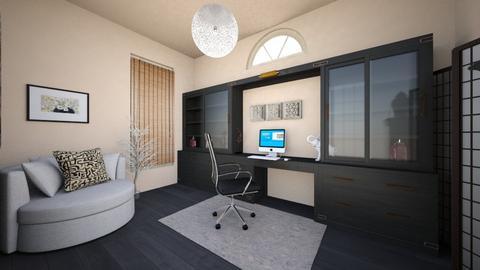 oriental office 1 - Office  - by olivianicole59