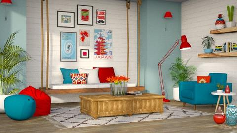 Playful Living - Living room  - by LB1981