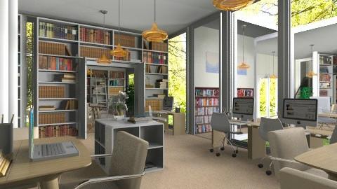 Modern Library 2 - Modern - by cheyjordan