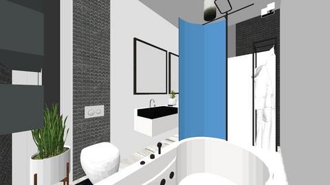 czarny - Modern - Bathroom - by DERRYS