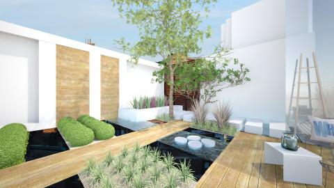 Modern Garden - Modern - Garden  - by StienAerts