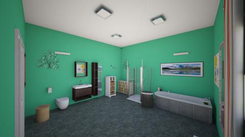 bathroom - Modern - Bathroom - by Kim Hye Ri