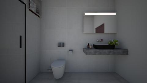 bhk - Bathroom  - by Architectdreams