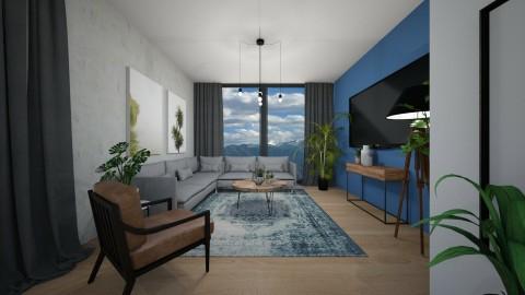 living room 1 - Living room - by elvievandenbroek