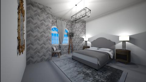 Minimal Bedroom - Bedroom  - by Anya F