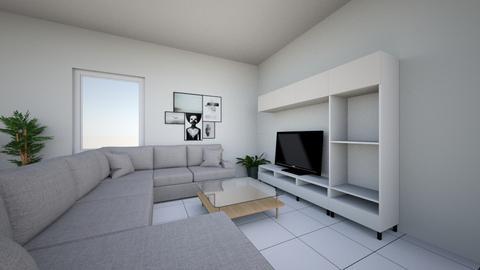 Option 1 salon - Living room  - by myleneb