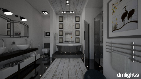 Misty - Modern - Bathroom  - by DMLights-user-981898
