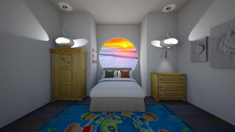 Through The Porthole spac - Bedroom  - by goldenfang11