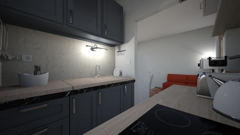 Kitchen Kozarevo dark plu - Modern - Kitchen  - by phar2