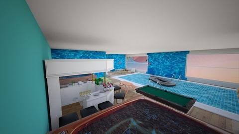 pool room - by izzyluck18