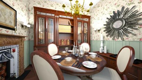 Dining - Vintage - Dining room  - by camilla_saurus