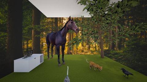 animal garden - Garden  - by palomino123