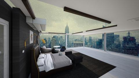 unfinished - Modern - Bedroom  - by atasha
