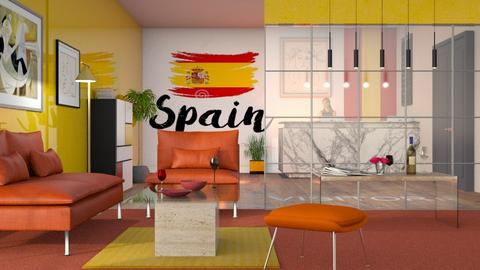 Embassy Reception Room - Modern - Living room  - by Sally Simpson