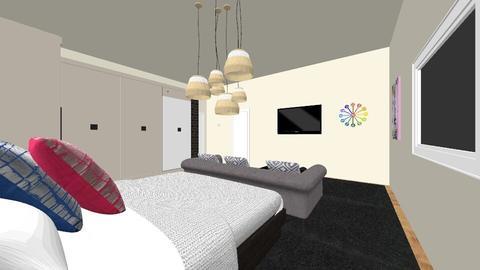 2nd bedroom_Guest house - Modern - Bedroom - by Ahmedb