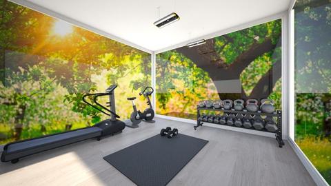 gym home - Modern - by waad3333