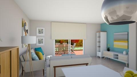 Palmesa papel colores - Retro - Living room  - by Abaco