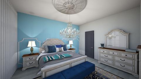quarto - Eclectic - Bedroom  - by Keilla