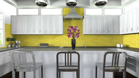 Color Pop II - Kitchen  - by Baustin