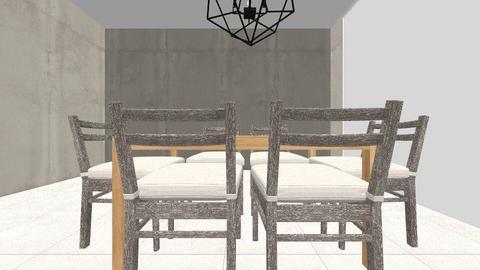 Casa Aranzazu BSAS - Rustic - Dining room - by Sol Berenice
