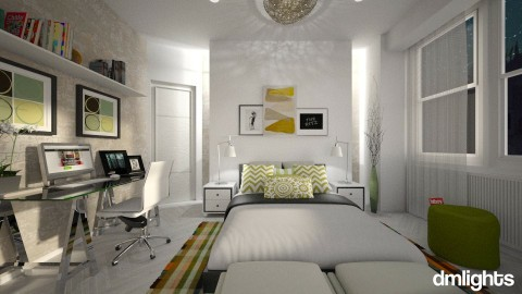 Quarto  - Bedroom - by DMLights-user-983971