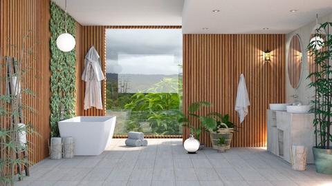 Attic Bathroom - Bathroom  - by ArtHousedeco