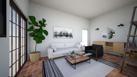 Burr Oak - Living room  - by mmoorethread