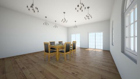 dining room in - Modern - Dining room  - by lmjulian71