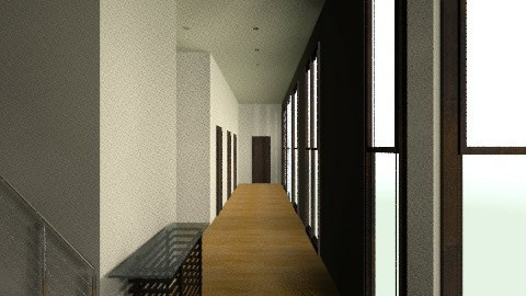 Simple Apartment Hallway - Modern - by SaraxDGoesRoarr
