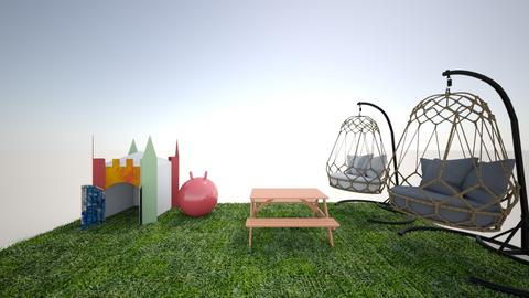 outside backyard - Modern - Kids room  - by I heart unicorns9