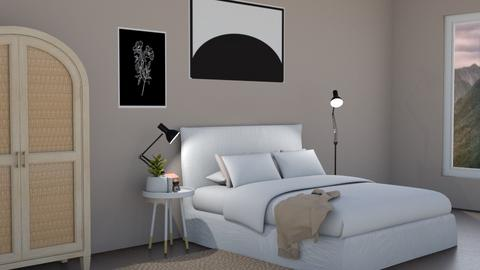 Teens bedroom - Minimal - Bedroom  - by milk07Designs