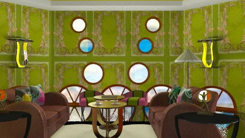 Deco-rate - Retro - Living room  - by mrschicken