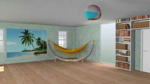 Beach house - Living room - by livvy651
