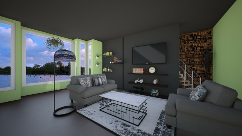 The living room - Living room - by I_am BestWithTuluah