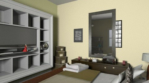 my habitacion - Bedroom - by Made30mK