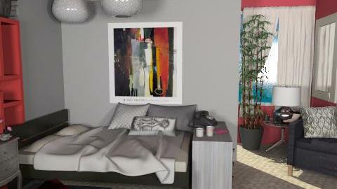 Modern Bedroom - Modern - Bedroom  - by kishwick