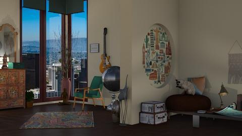 Travel - Living room  - by nat mi