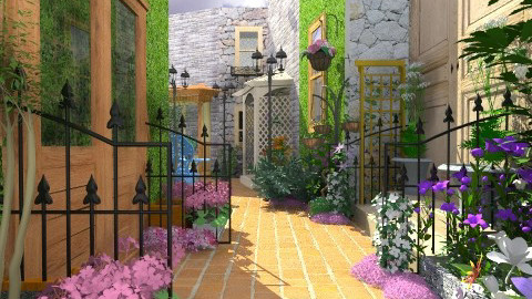Petite Rue de Provence - Rustic - Garden  - by user_7618082