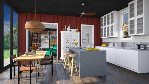 My Take on Farm - Modern - Kitchen  - by 3rdfloor