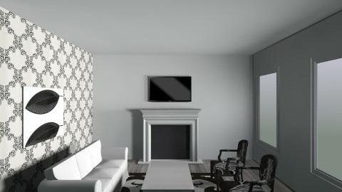living room b e w1 - Glamour - Living room - by lauraalfei